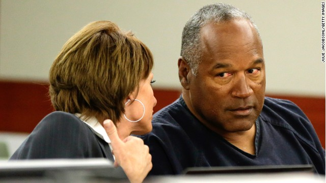 O.J. Simpson has at least four years still to serve on his kidnapping and armed robbery convictions.