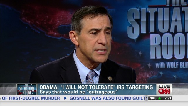 Issa: IRS targeting 'can't happen again'