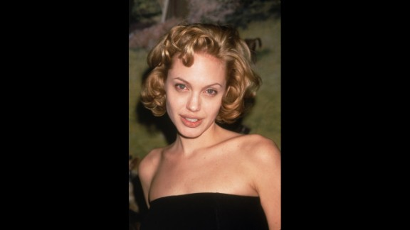 Jolie attends an event in New York City, circa 1998.