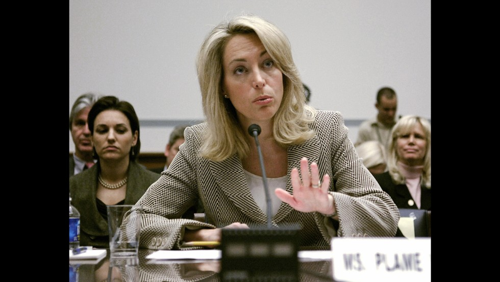 Former CIA covert agent Valerie Plame Wilson had her identity revealed by George W. Bush's Deputy Secretary of State Richard Armitage after her husband wrote a scathing op-ed in The New York Times.