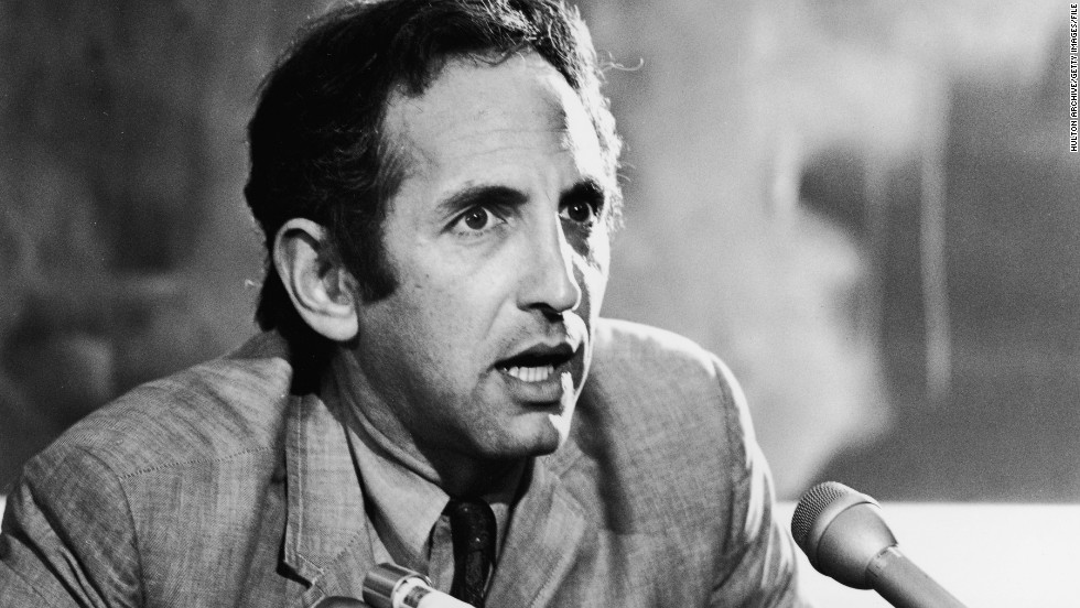 "Military analyst <a href=""http://www.cnn.com/2011/US/03/19/wikileaks.ellsberg.manning/index.html"">Daniel Ellsberg</a> leaked the 7,000-page Pentagon Papers in 1971. The top-secret documents revealed that senior American leaders, including three presidents, knew the Vietnam War was an unwinnable, tragic quagmire. Further, they showed that the government had lied to Congress and the public about the progress of the war. Ellsberg surrendered to authorities and was charged as a spy. During his trial, the court learned that President Richard Nixon's administration had embarked on a campaign to discredit Ellsberg, illegally wiretapping him and breaking into his psychiatrist's office. All charges against him were dropped. Since then he has lived a relatively quiet life as a respected author and lecturer."
