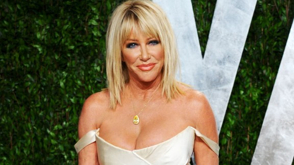 """Three's Company"" star Suzanne Somers spoke with CNN's Piers Morgan in 2012 about her stem cell surgery and her bout with breast cancer. She was diagnosed in 2001, which is when she began researching alternative methods to reconstructive surgery."