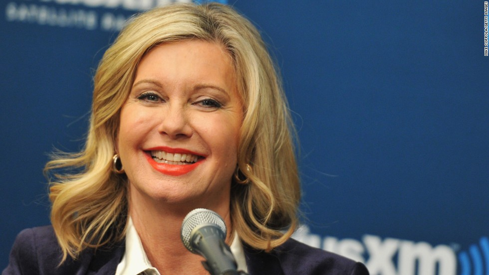 Olivia Newton-John was first diagnosed in 1992, and the singer has become an advocate for breast self-examination.