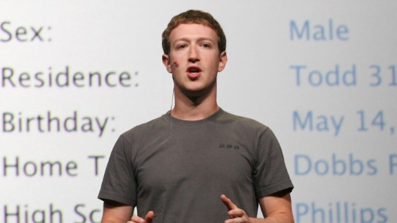 Facebook CEO Mark Zuckerberg turns 29 on Tuesday. What do you buy a billionaire for his birthday? May we suggest some new clothes? As this gallery demonstrates, the young tech titan is famously known for his limited (some might say monotonous) wardrobe.