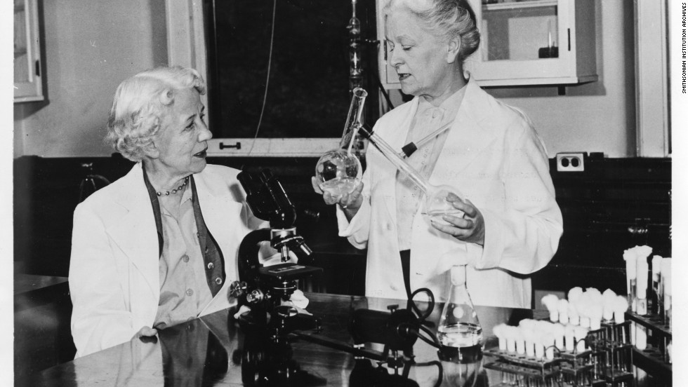"<a href=""http://www.chemheritage.org/discover/online-resources/chemistry-in-history/themes/pharmaceuticals/preventing-and-treating-infectious-diseases/hazen-and-brown.aspx"" target=""_blank"">Microbiologist Elizabeth Lee Hazen and chemist Rachel Brown</a> developed the first effective antifungal agent, called nystatin. This drug is still used today -- not only for humans, but also <a href=""http://web.mit.edu/invent/iow/HazenBrown.html"" target=""_blank"">to combat Dutch Elm disease in trees</a> and to restore water-damaged artwork. Hazen died in 1975; Brown died in 1980."