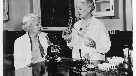 Microbiologist Elizabeth Lee Hazen and chemist Rachel Brown developed the first effective antifungal agent, called nystatin. This drug is still used today -- not only for humans, but also to combat Dutch Elm disease in trees and to restore water-damaged artwork. Hazen died in 1975; Brown died in 1980.