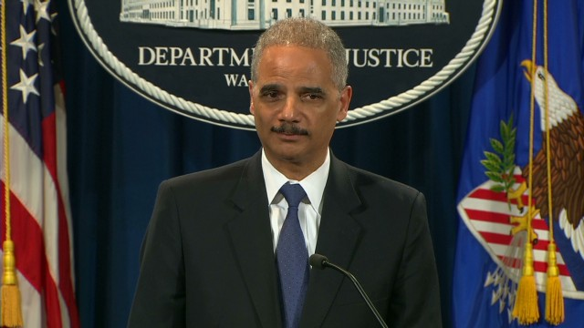 Holder: Most serious leaks I've ever seen