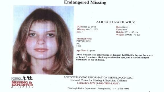 Alicia Kozakiewicz's missing poster