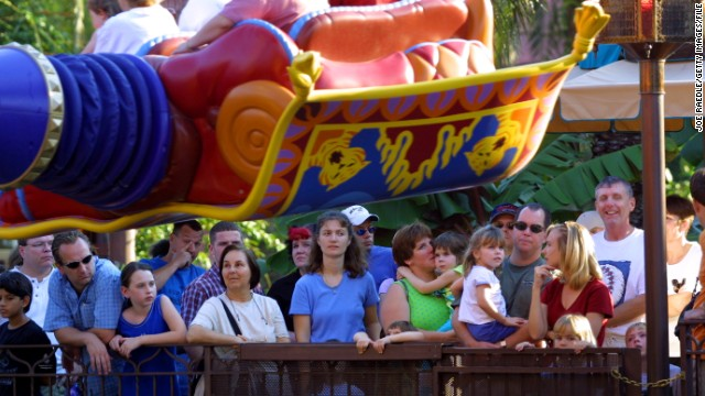 Wealthy cutting lines at Disney World?