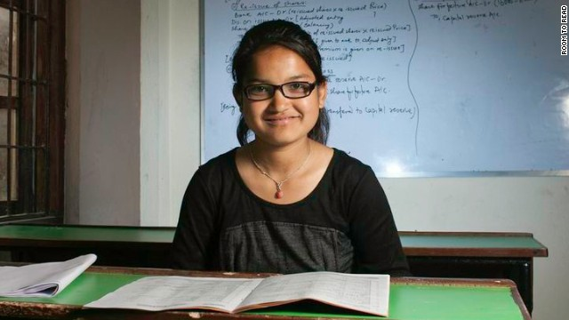 Purnima: I'm the first getting education