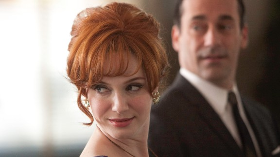 "Outstanding Supporting Actress in a Drama Series: Christina Hendricks, who plays Joan Harris in ""Mad Men"" was nominated, along with Anna Gunn (""Breaking Bad""), Maggie Smith (""Downton Abbey""), Joanne Froggatt (""Downton Abbey""), Lena Headey (""Game of Thrones""), Christine Baranski (""The Good Wife"")."
