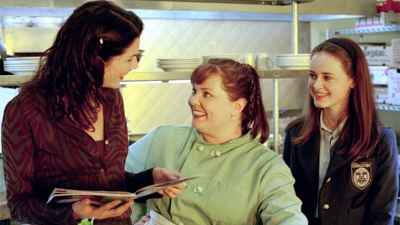 Melissa McCarthy (center) as Sookie St. James.