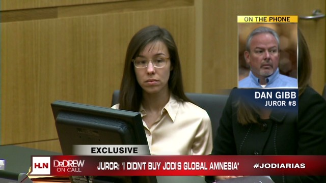 Arias juror 8 breaks silence