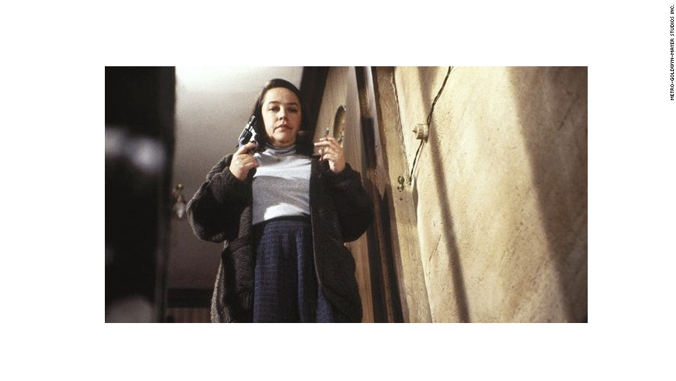 "Kathy Bates did a marvelous job bringing Stephen King's obsessed and psychotic book lover, Annie Wilkes, to life in 1990's ""Misery."""