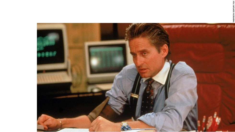 "Michael Douglas was so good in his role as the cold-blooded stockbroker Gordon Gekko in 1987's ""Wall Street,"" it was easy to forget his ""Greed is Good"" mantra isn't something we're supposed to embrace."