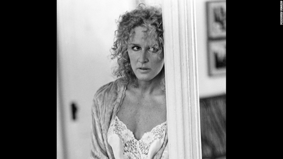 "It's a wonder that extramarital affairs haven't been drastically reduced since 1987's ""Fatal Attraction,"" in which Glenn Close plays a one-night-stand turned horror-show named Alex Forrest. She teaches Michael Douglas' unfaithful Dan Gallagher (and one poor, helpless bunny) a lesson on infidelity that we haven't forgotten."