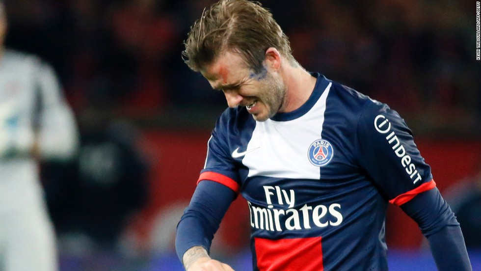 info for 14af3 5ab94 Beckham plays final home match to tears and cheers - CNN