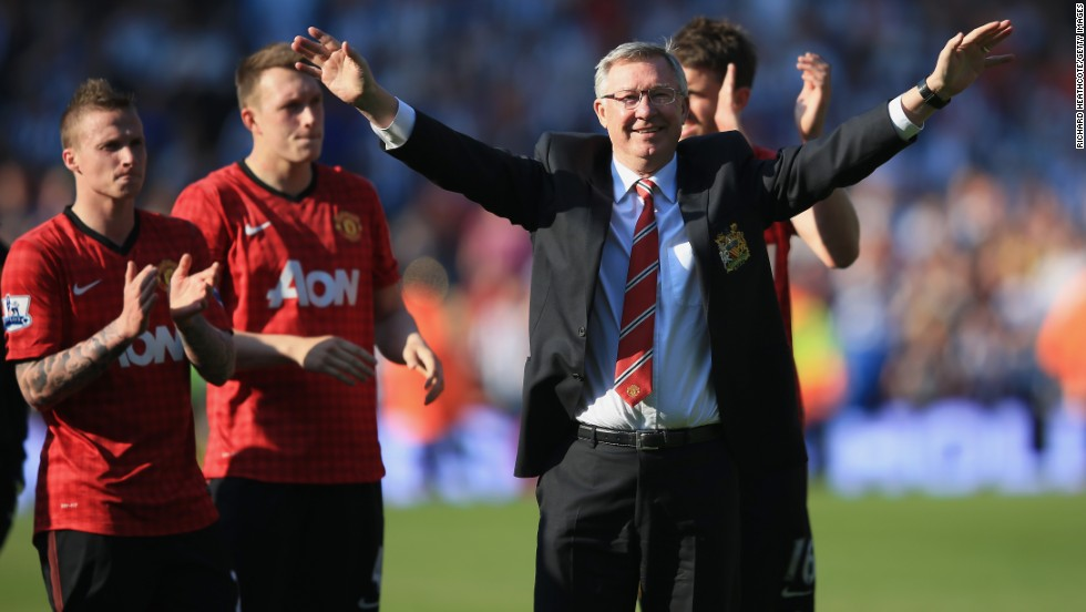 Alex Ferguson brought his reign as manager of Manchester United to an end in May after 26 years at Old Trafford. The Scot guided United to a record 20th English title in 2013.