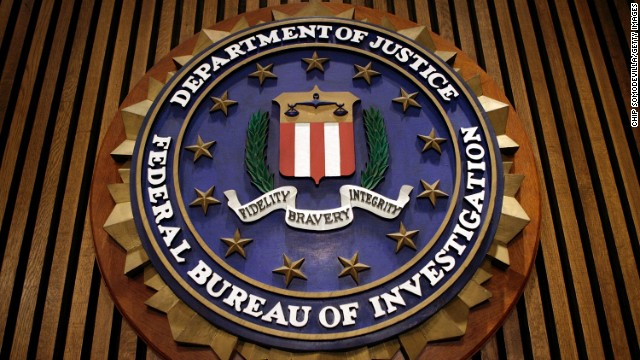 Caption:	 WASHINGTON - MARCH 09: The seal of the F.B.I. hangs in the Flag Room at the bureau's headquaters March 9, 2007 in Washington, DC. F.B.I. Director Robert Mueller was responding to a report by the Justice Department inspector general that concluded the FBI had committed 22 violations in its collection of information through the use of national security letters. The letters, which the audit numbered at 47,000 in 2005, allow the agency to collect information like telephone, banking and e-mail records without a judicially approved subpoena. (Photo by Chip Somodevilla/Getty Images)