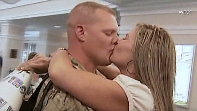 Wife loses 100 lbs., stuns Army hubby