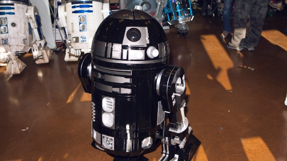 "The Bay Area R2 Builders Club shows off some of its best homemade versions of R2-D2, the robot from ""Star Wars."""