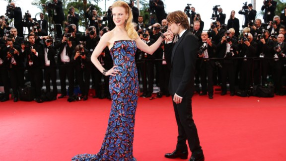 """Nicole Kidman says her husband, Keith Urban, leaves her a love letter for """"every single night he's away ... every single night of our relationship."""""""