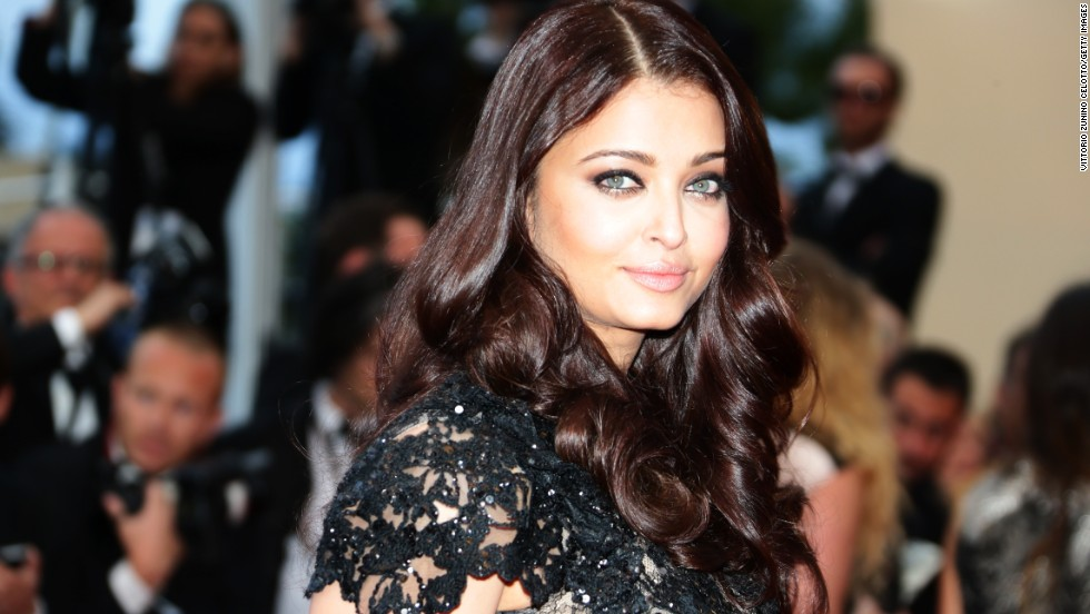 "Aishwarya Rai attends the May 20 Cannes premiere at ""Blood Ties."""