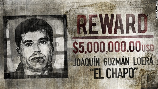 Drug lord 'El Chapo' no longer on the run