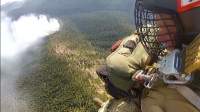 See what it's like to be a smokejumper