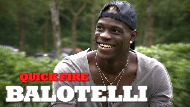 Balotelli on tattoos, women and food