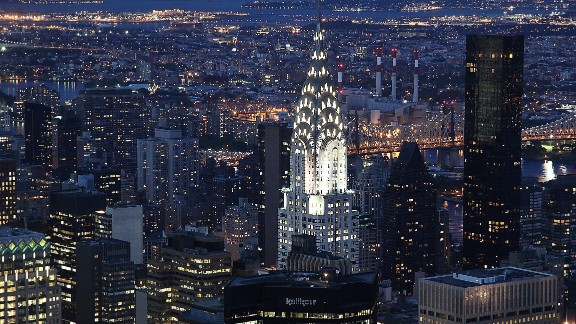 Builders installed the spire on New York's Chrysler Building on October 23, 1929 making it the world's tallest building at 319 meters. Five days later, the Wall Street Crash wiped nearly 13% off the stock market and precipitated the country's Great Depression.