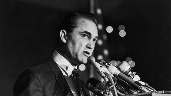 """American history doesn't offer many examples of public figures admitting to racism, but George Wallace came close in 1982 when he admitted he was """"wrong"""" about race."""