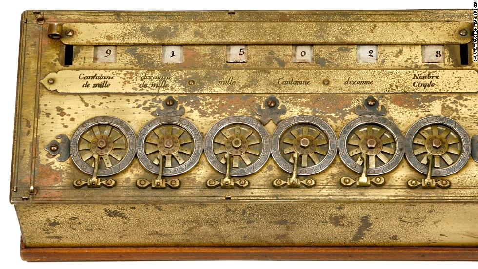 Three hundred years before the birth of Steve Jobs, the French philosopher, physicist and mathematician, Blaise Pascal, was designing the world's first mechanical calculator, the 'Pascaline'.