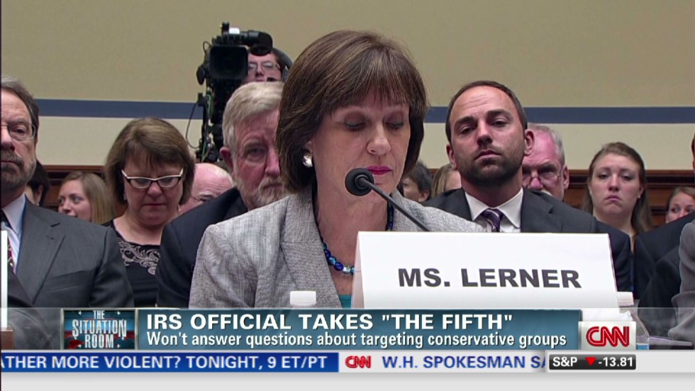 Irs Official In Charge Of Targeting Unit Takes The 5th