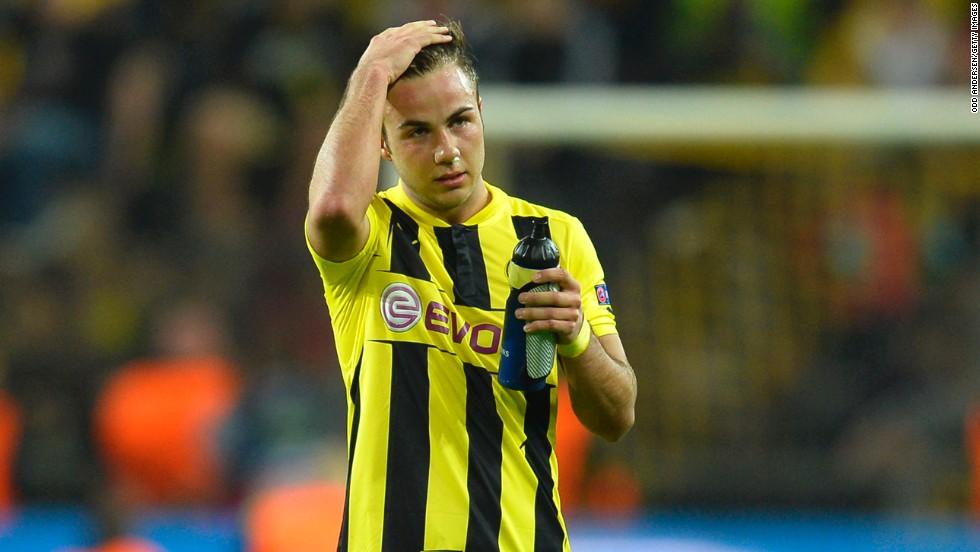 competitive price a8b01 edcde Mario Gotze's mixed Dortmund fortunes