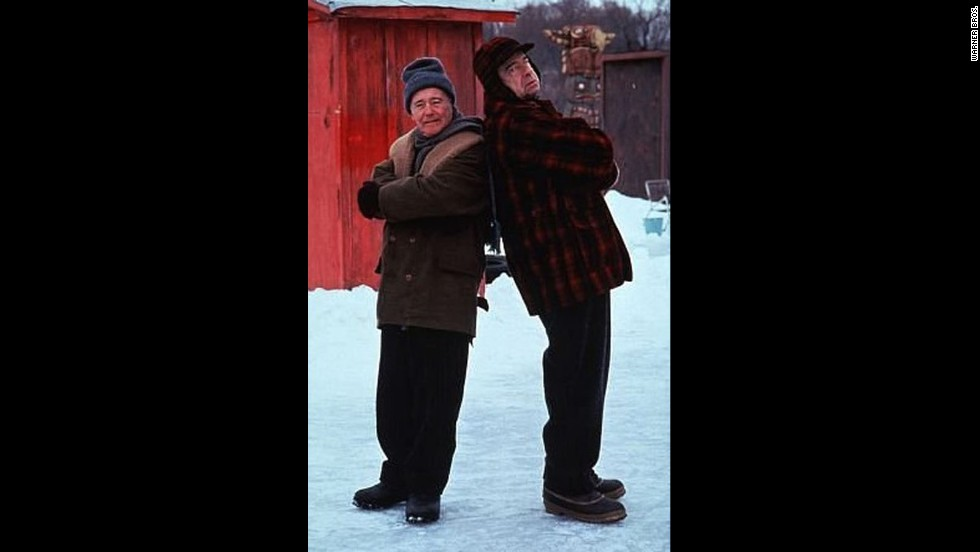 "<strong>""Grumpy Old Men"" (1993)</strong>: As former friends who later became epic rivals, Jack Lemmon's John and Walter Matthau's Max showed in this comedy that the best comrades can also make the worst enemies."