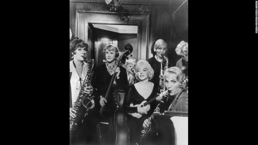 "<strong>""Some Like It Hot"" (1959)</strong>: In this classic comedy, Tony Curtis and Jack Lemmon star as a pair of musicians who disguise themselves as ladies in an all-woman band to escape mobsters. They set off for Florida with designs on Marilyn Monroe's Sugar Kane."