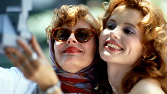 """<strong>""""Thelma & Louise"""" (1991)</strong>: The buddy movie is a genre typically filled with stories of male bonding, but 1991's """"Thelma & Louise"""" changed perceptions. The acclaimed drama, which has beats of humor and poignancy, celebrated female friendships in a new way."""