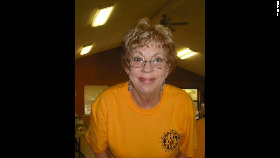Deanna Ward, 70, died in the twister.