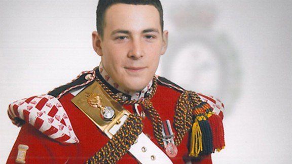 Drummer Lee Rigby, the soldier killed in the May 22, 2013, incident in Woolwich, southeast London.