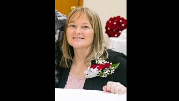 Shannon Quick,40, was at home with her mother and two boys when the tornado struck. She died from injuries suffered from debris cutting open her midsection.