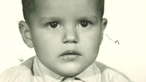 Quinones-Hinojosa, here at age 2, grew up in a small village in Baja California, Mexico.