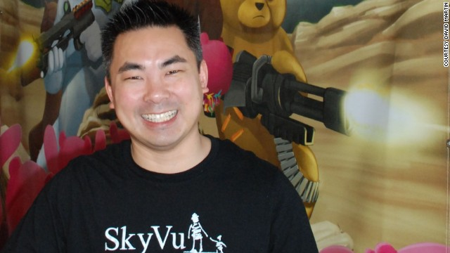Ben Vu worked as an animator on Hollywood films before starting SkyVu in his family's basement in suburban Nebraska.