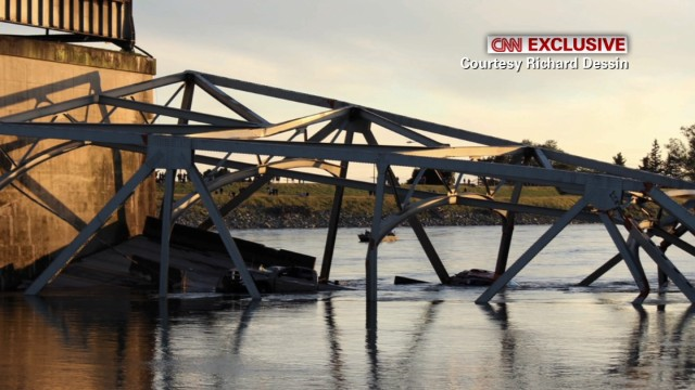 Collapsed bridge raises questions