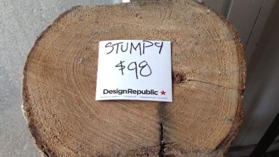 Log: It's big. It's heavy. It's wood. It costs $98.