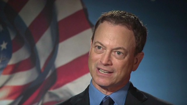 Actor Gary Sinise pushes veterans issues