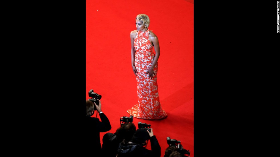 """The Vampire Diaries"" actress and singer Kat Graham attends the Cannes premiere of ""Only God Forgives"" on May 22."