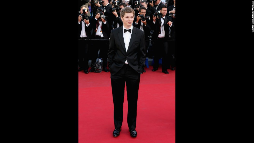 "Actor Michael Cera attends the Cannes premiere of ""The Immigrant"" on May 24."