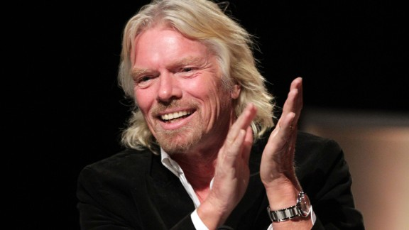 British entrepreneur and Virgin Group founder Sir Richard Branson said in a 2011 interview with CNN