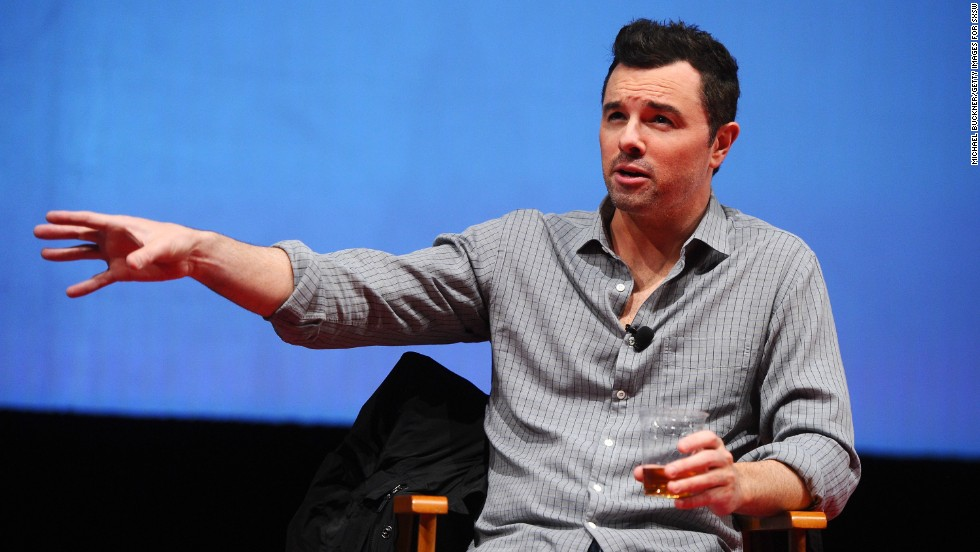 "Seth MacFarlane, creator of the animated series ""Family Guy,"" has become vocal about his atheism. Asked about it <a href=""http://www.esquire.com/features/the-screen/seth-macfarlane-interview-0909"" target=""_blank"">in a 2009 interview</a> with Esquire, he said, ""It's like the civil-rights movement. There have to be people who are vocal about the advancement of knowledge over faith."""